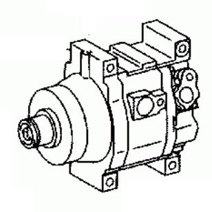 TOYOTA YARIS/ECHO SCP10/EL50 2002-2003 Compressor Air
