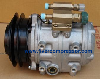 Air Conditioning Compressor 88320-36520 / 447220-7091 for Toyota Bus