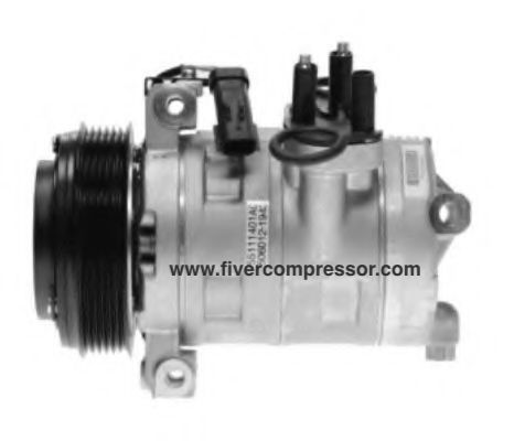 Auto A/C Compressor 506211-9421/ 506012-1943  for Jeep Wrangler and Dodge Nitro