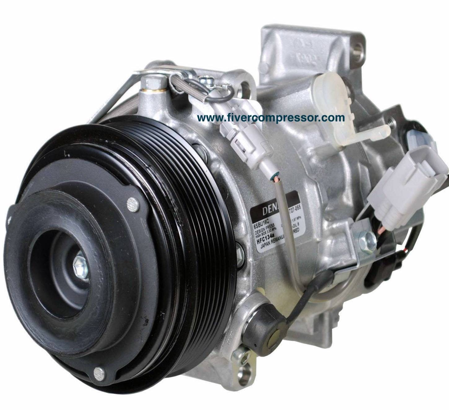 AC Compressor 883103A441, 883103A560, 8832036530, 883203A280, 883203A310 for Lexus GS350(GRS195/GRS196) Lexus IS250(GSE25) and Toyota Crown(GRS181/GRS183) 2003-2013